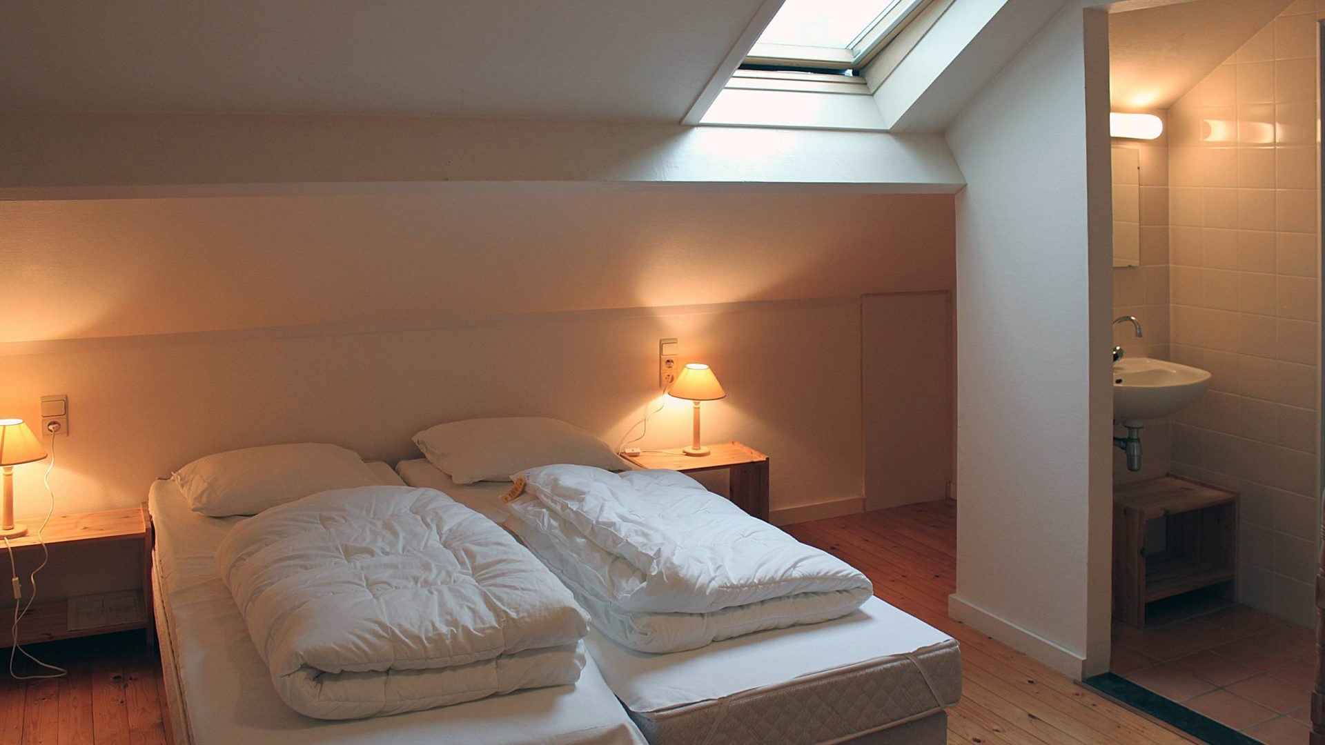 De Pensool slaapkamer